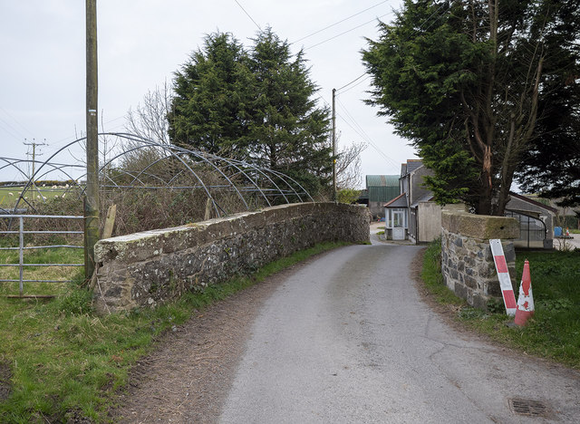 The Cannyreagh Road near Donaghadee