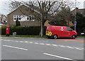 ST3091 : Royal Mail van, Rowan Way, Malpas, Newport by Jaggery