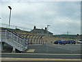 NT4544 : Cycle and car parking at Stow railway station by Stephen Craven