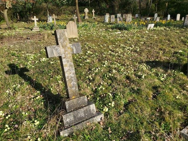 St Luke's Churchyard at Chiddingstone Causeway, Kent