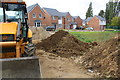 SP8687 : New housing development on site of former Kingswood Grammar School by Phil Richards