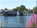 TQ1369 : Hampton Sailing Club by Sean Davis