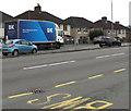 ST3090 : DX lorry, Malpas Road, Newport by Jaggery