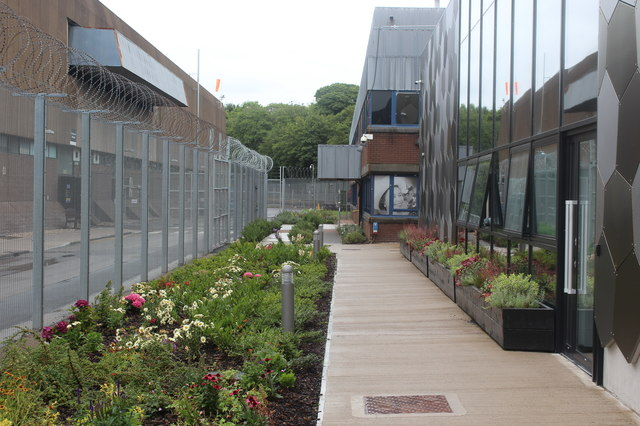 Footpath at rear of Royal Mint Experience