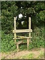 SS8579 : Stile at Long Belt, Tythegston by eswales