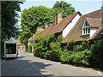 TQ0487 : Cottages on Village Road, Denham by Robin Webster