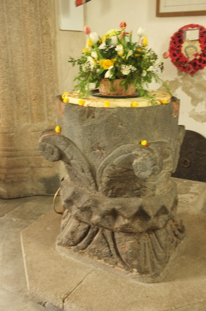 Font, Church of St Andrew, Bere Ferrers