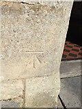 ST3049 : OS Cut Mark: Burnham on Sea, St Andrew's Church by thejackrustles