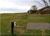 NO3901 : Campervan pitches, Silverburn Park by Bill Kasman