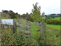 SD7152 : Gate on path to Slaidburn by Raymond Knapman