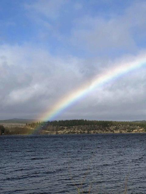 Kielder Water rainbow