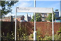 TM1131 : Mistley Station sign by N Chadwick