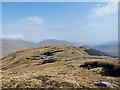 NM9391 : Broad mountain ridge east of Carn Mòr by Trevor Littlewood
