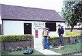 SU3287 : Kingston Lisle Post Office, July 1979 by Jeff Buck