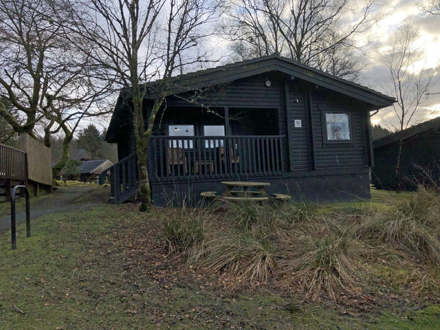 Lodge number 22 at Kielder Water and Forest holiday park