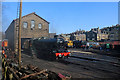 SE0337 : Keighley and Worth Valley Railway - Haworth shed yard by Chris Allen