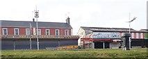 J3730 : Businesses in lockdown on Newcastle's Central Promenade by Eric Jones
