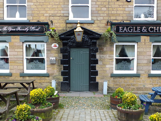 The Eagle and Child. Currently closed due to Coronavirus Pandemic