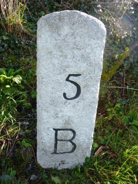 Old Milestone south of Penpont