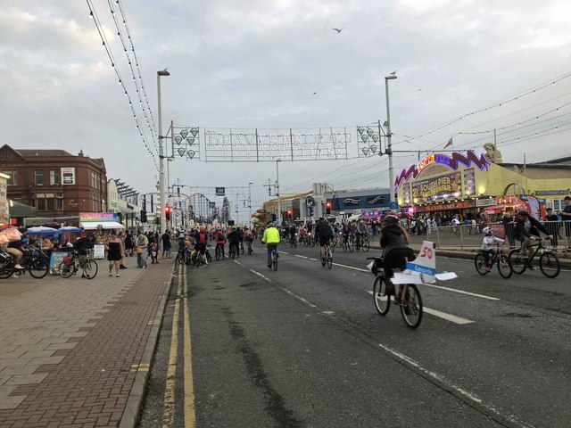Riding the lights at Blackpool
