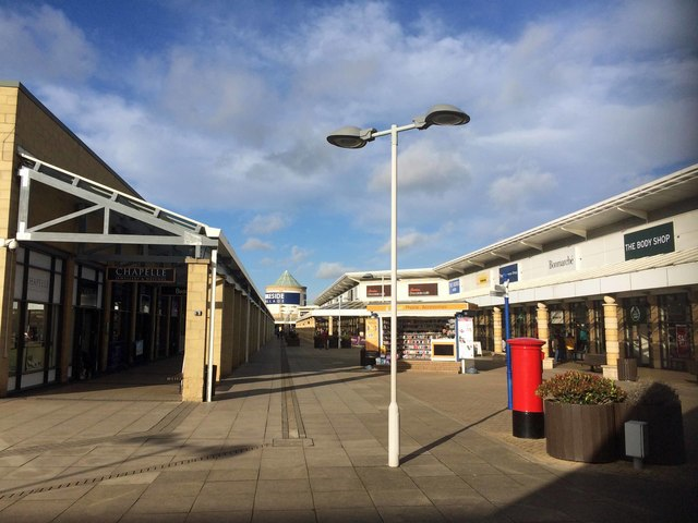 Outlet shopping centre Doncaster