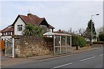 SO9095 : Redundant bus stop in Mount Road, Wolverhampton by Roger  Kidd
