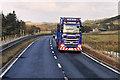 NS9529 : A702 near Devonshaw Hill by David Dixon