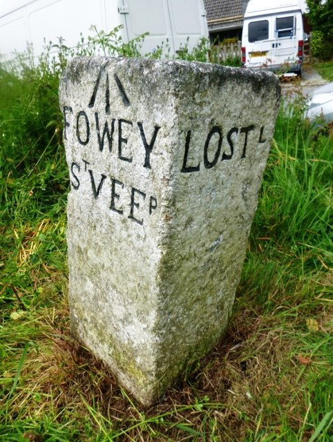 Old Guide Stone at Wooda Cross