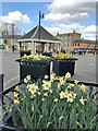 TL2797 : The Butter Cross on the Market Place in Whittlesey by Richard Humphrey