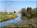 TL4297 : The River Nene (old course) on the outskirts of March by Richard Humphrey