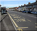 ST3089 : Lyceum bus stop and shelter, Malpas Road, Crindau, Newport by Jaggery
