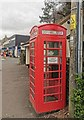 ST4553 : Defibrillator in K6 Telephone Kiosk by PAUL FARMER