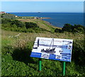 NT3597 : Information board overlooking the former Buckhaven Harbour by Mat Fascione