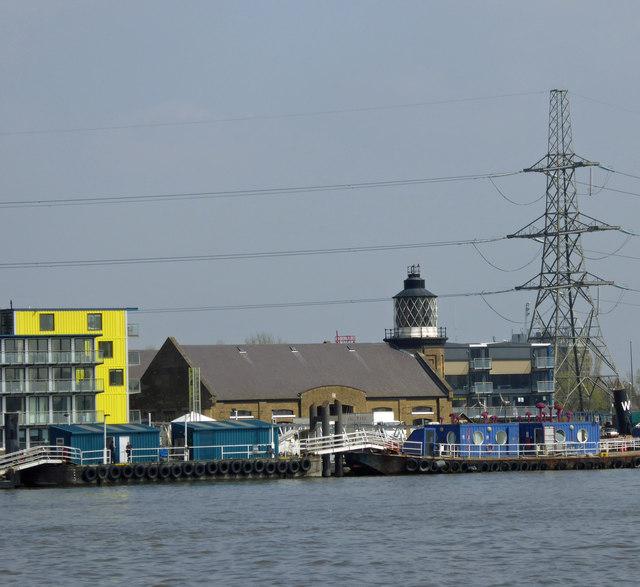 Trinity buoy lighthouse wharf