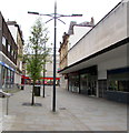 ST3188 : Austin Friars towards Iceland in Newport city centre by Jaggery