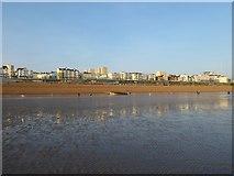 TQ3103 : Low Tide, Brighton Beach by Simon Carey