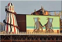 TQ3103 : Palace Pier, Brighton by Simon Carey