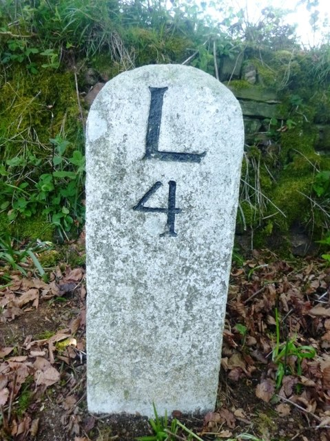 Old Milestone by the A395, north east of Trevosper