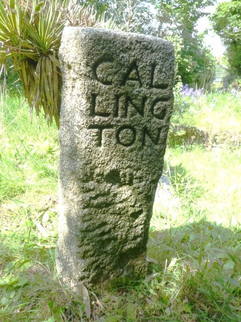 Old Guide Stone in Gang