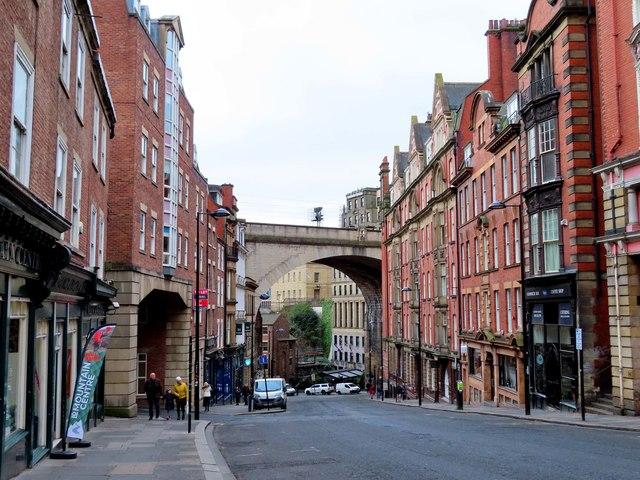 Dean Street in Newcastle