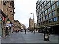 NZ2463 : Grainger Street in Newcastle by Steve Daniels
