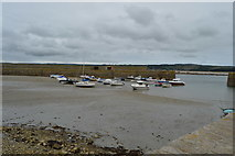 SW5130 : St Michael's Mount harbour by N Chadwick