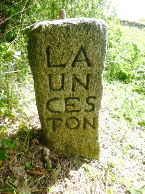Old Guide Stone at Higher Keason