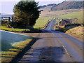 NT1143 : A72, Lochurd Farm by David Dixon