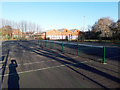 SE2733 : Tennis courts, Armley Park by Stephen Craven