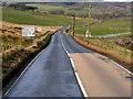 NT1642 : A72 near Tarth Bridge by David Dixon
