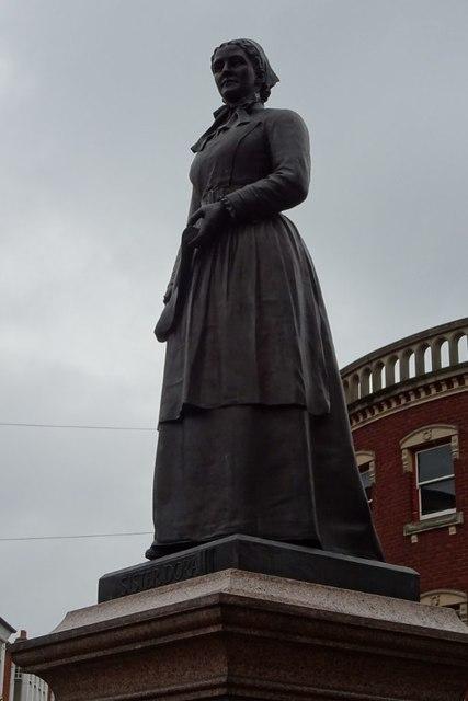 Statue of Sister Dora