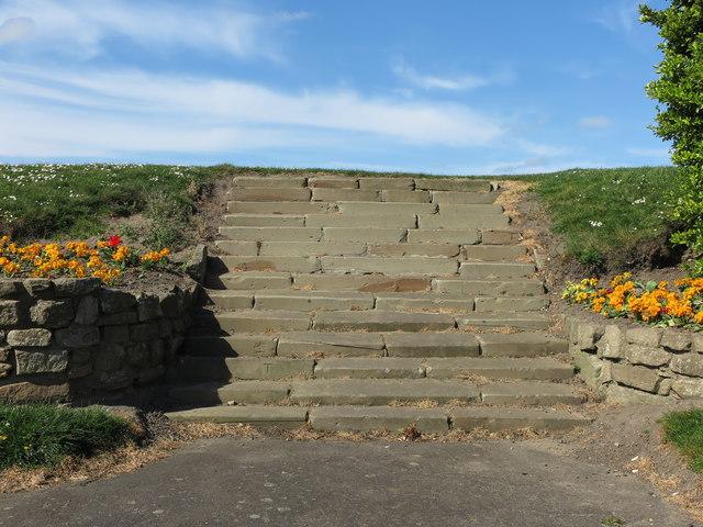 Steps, Dukes Walk, Whitley Bay