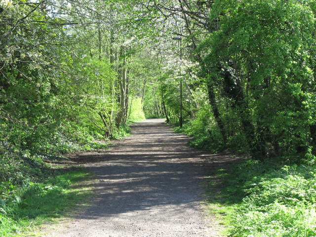 Path near Churchill Playing Fields, Monkseaton