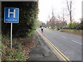 SO2814 : H is for Hospital, Brecon Road, Abergavenny by Jaggery